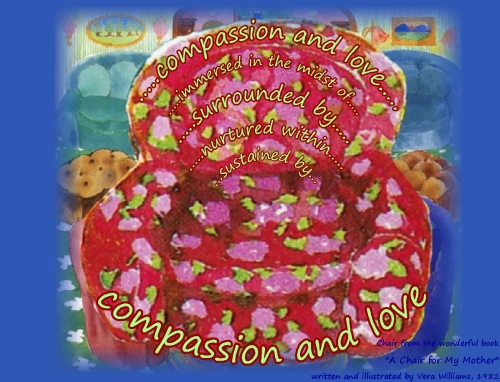 chair compassion and love 1l