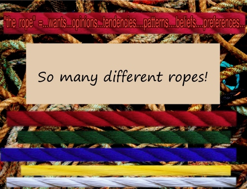 hand of thought open so many different ropes 555