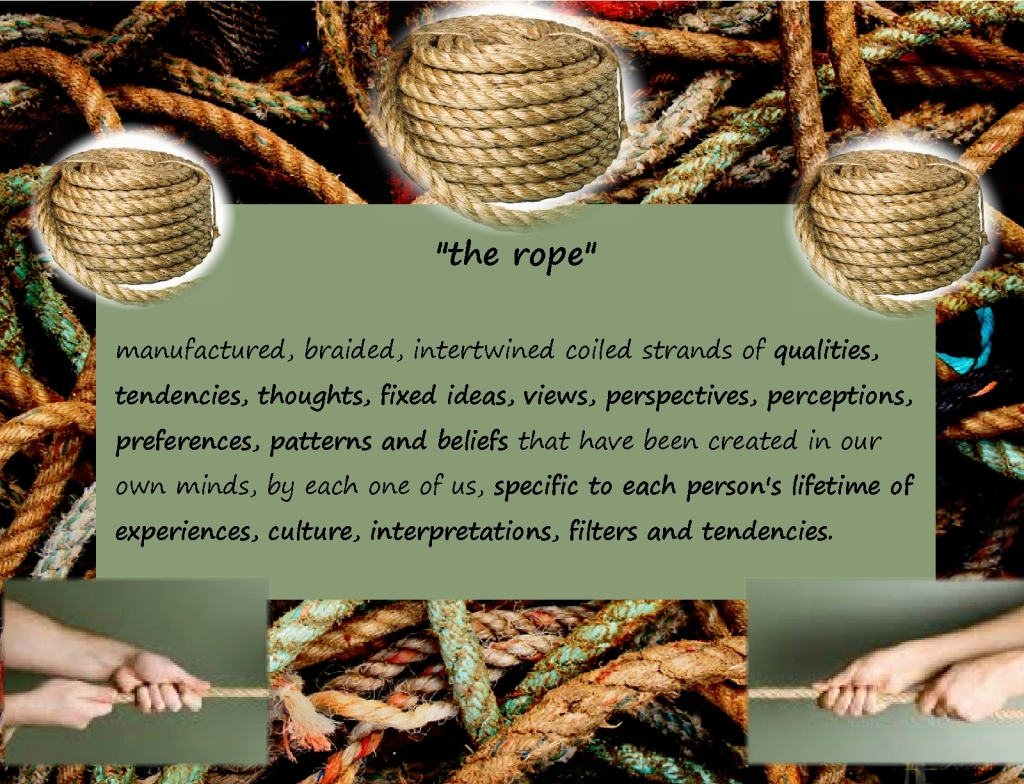 Open the hand colors rope explanation