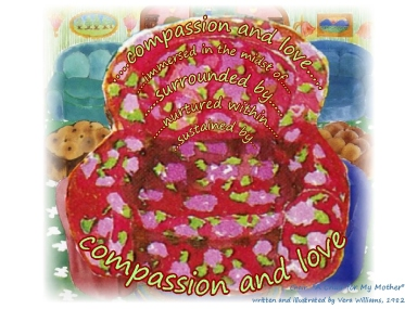 chair one only compassion and love clear simple