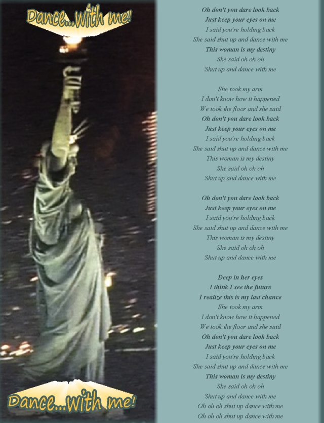Dance with me Lady Liberty lyrics