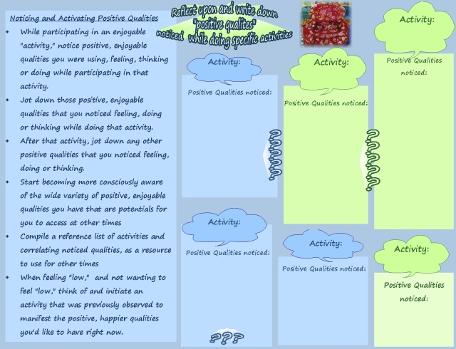 Qualities Activities Drivng investigating