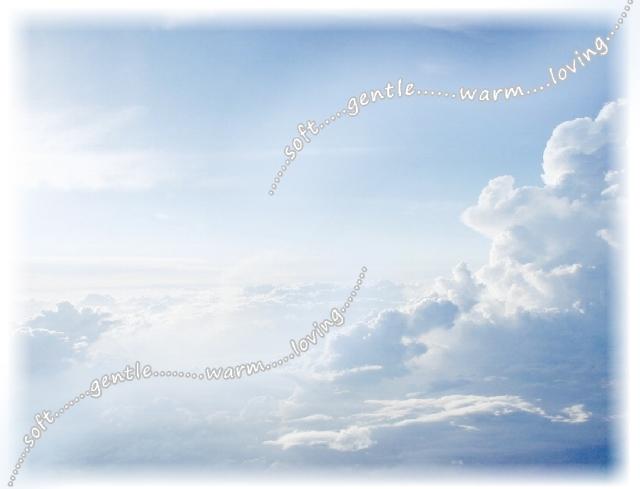 soft gentle warm loving sky sim fading